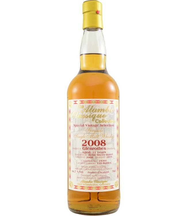 Glenrothes Glenrothes 2008 Alambic Classique