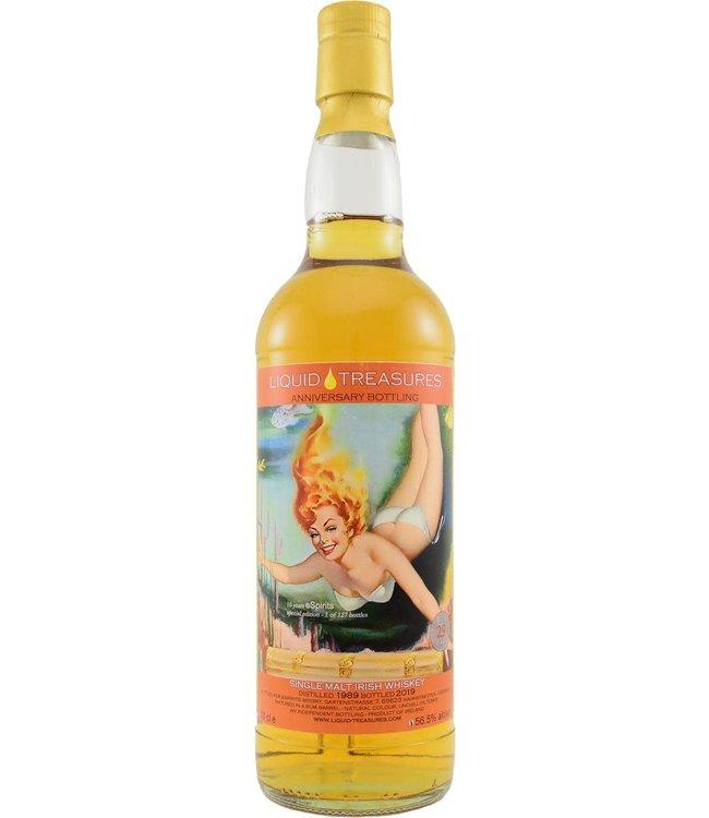 Single Malt Irish Whiskey 1989 Liquid Treasures