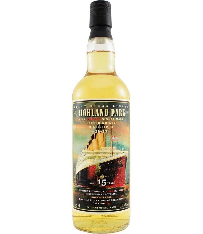 Highland Park Highland Park 2003 Jack Wiebers Whisky World