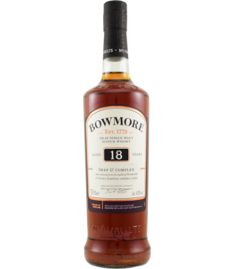 Bowmore 18-year-old - Deep & Complex