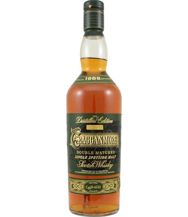 Cragganmore Cragganmore 1988 - The Distillers Edition
