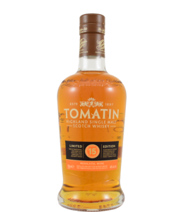 Tomatin 15-year-old Moscatel