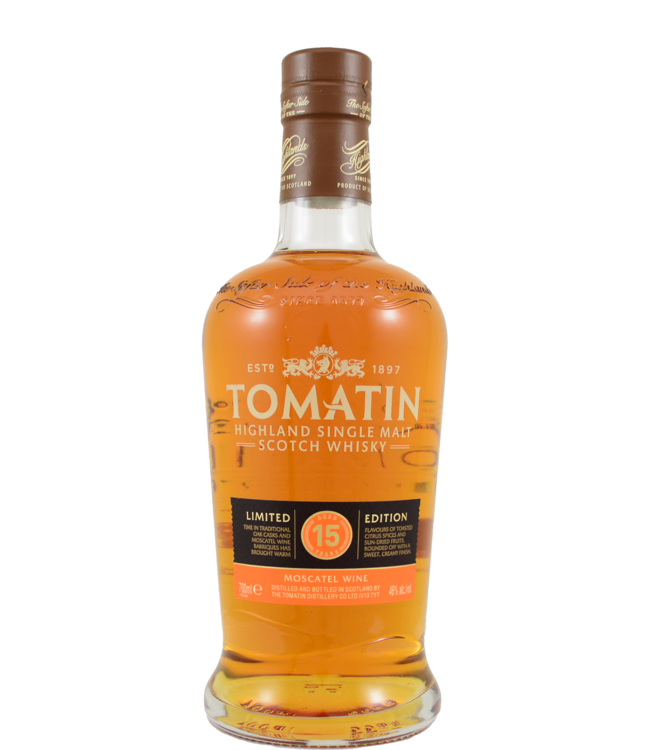 Tomatin Tomatin 15-year-old Moscatel