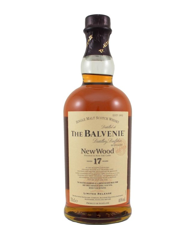 Balvenie Balvenie 17-year-old (no tube)