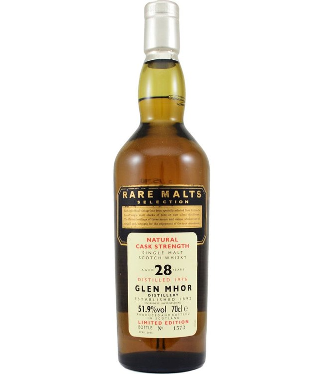 Glen Mhor Glen Mhor 1976 Rare Malts - bottle 1573