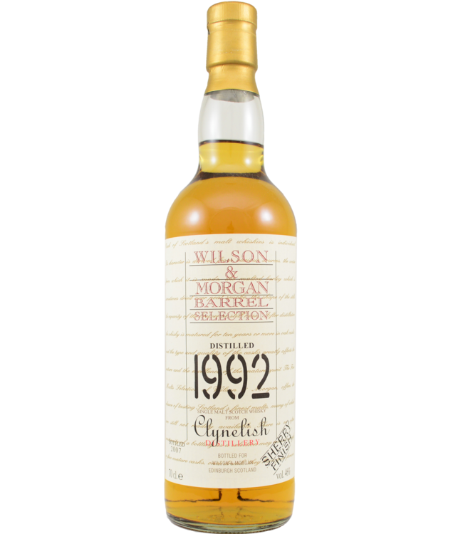 Clynelish Clynelish 1992 Wilson & Morgan (no box)