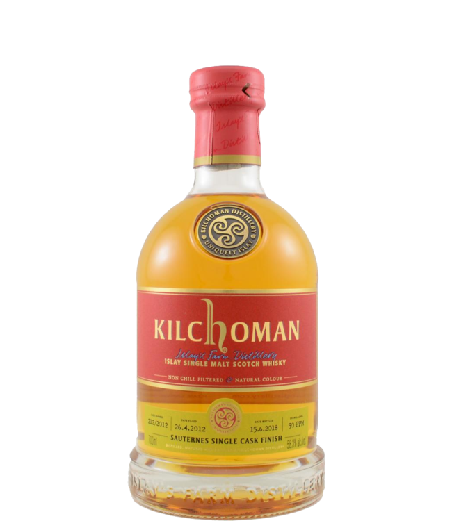Kilchoman Kilchoman 2012 Sauternes 58.3%
