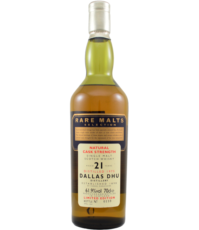 Dallas Dhu Dallas Dhu 1975 Rare Malts - bottle 0110