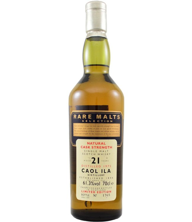 Caol Ila Caol Ila 1975 Rare Malts - bottle 1765