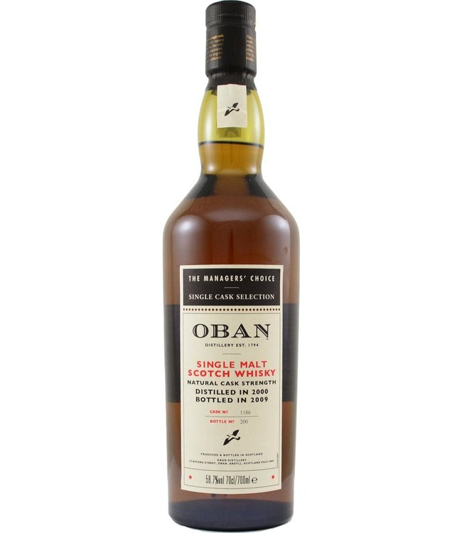 Oban Oban 2000 The Managers' Choice