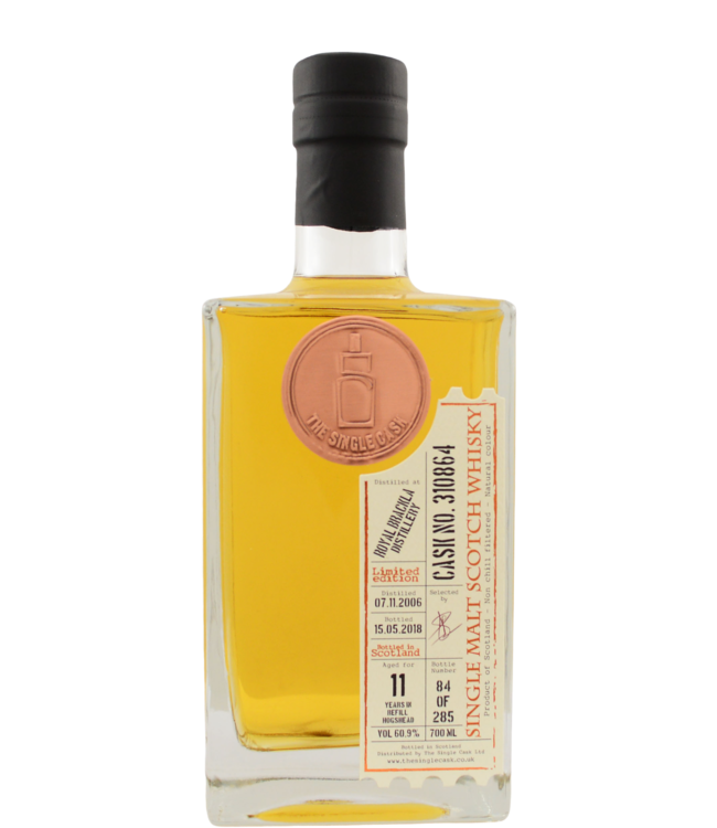Royal Brackla Royal Brackla 2006 TSCL The Single Cask Ltd.