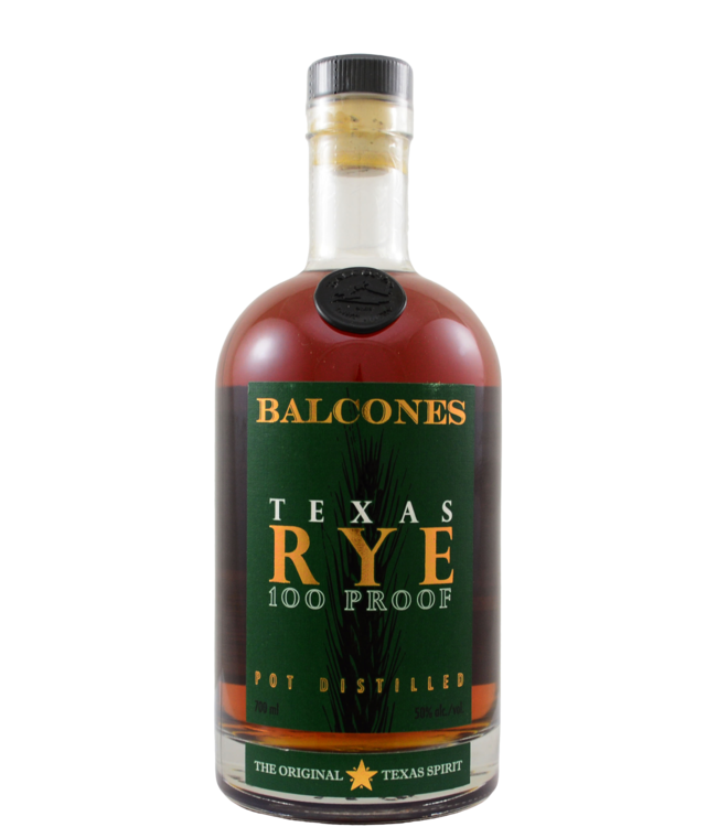 Balcones Balcones Texas Rye