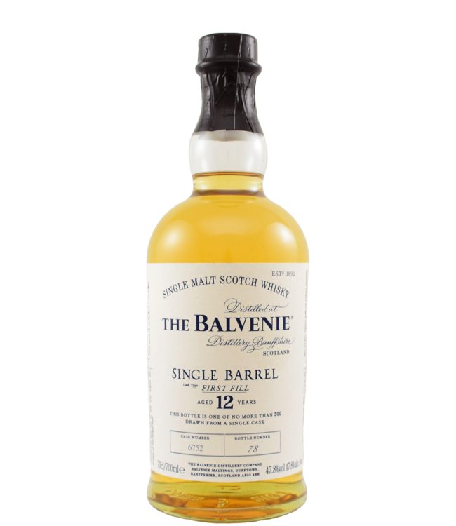 Balvenie Balvenie 12-year-old - Single Barrel 6752