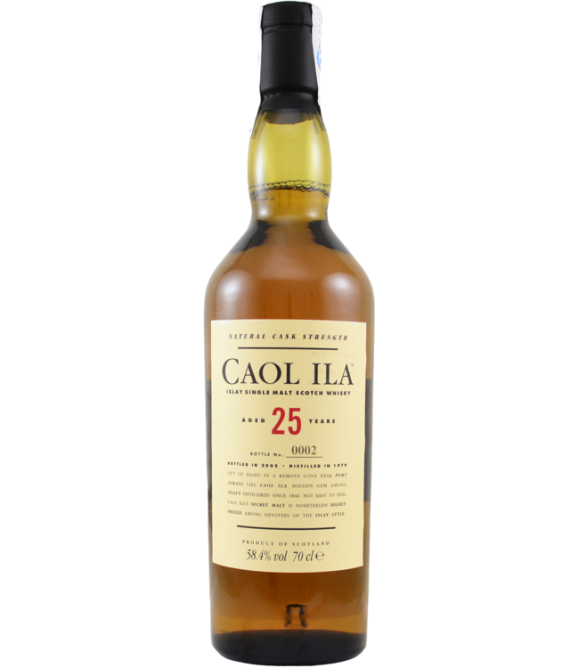 Caol Ila Caol Ila 25-year-old - 58.4%