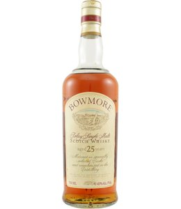 Bowmore 25-year-old - Old Seagulls Label