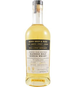 Blended Malt Scotch Whisky The Classic Range Peated Cask Berry Bros & Rudd