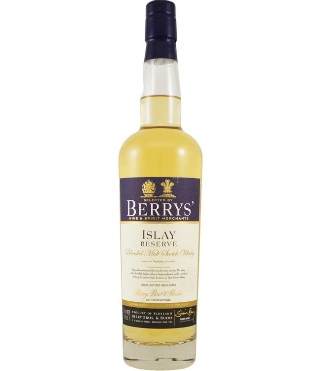 Islay Reserve Fourth Release Berry Bros & Rudd