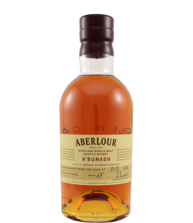 Aberlour Aberlour A'bunadh batch #65