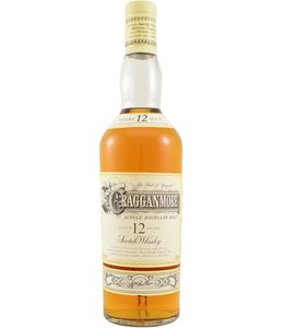 Cragganmore 12-year-old - Old Two Part Label