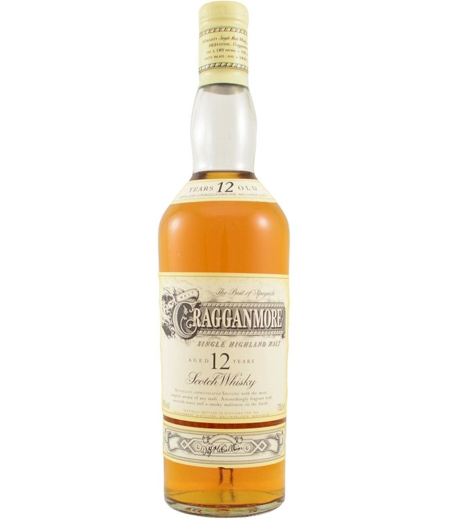 Cragganmore Cragganmore 12-year-old - Old Two Part Label