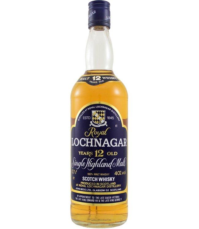 Royal Lochnagar Royal Lochnagar 12-year-old 1998