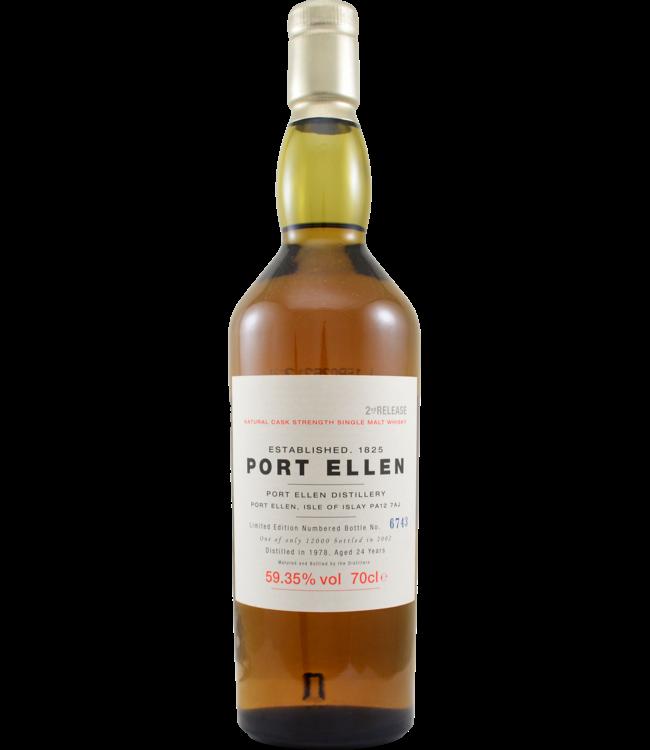 Port Ellen Port Ellen 2nd Release - bottle 6743