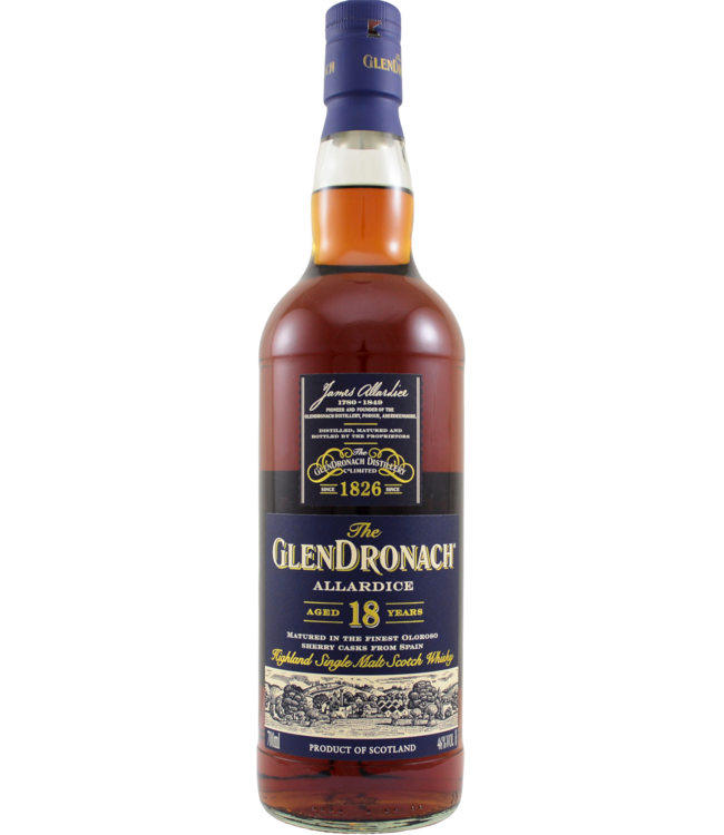 Glendronach Glendronach 18-year-old Allardice - 2019
