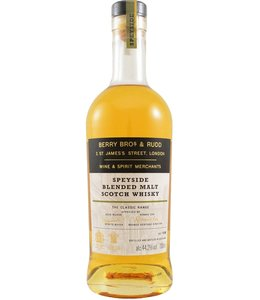Speyside Blended Malt Scotch Whisky The Classic Range Berry Bros & Rudd