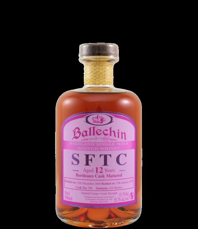 Ballechin Ballechin 2005 - Bordeaux Cask - 55.7%
