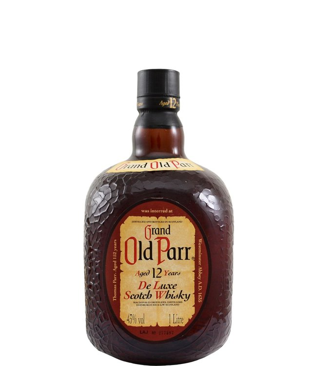 Grand Old Parr Grand Old Parr 12-year-old Macdonald, Greenlees Ltd.