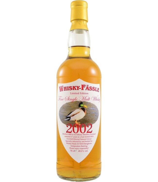 Orkney Single Malt 2002 Whisky-Fässle