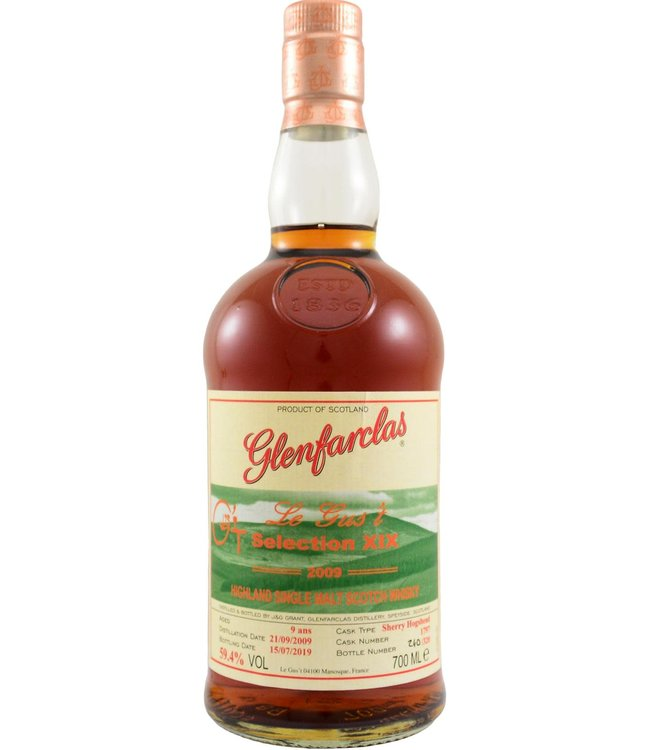 Glenfarclas Glenfarclas 2009 bottled for Le Gus't