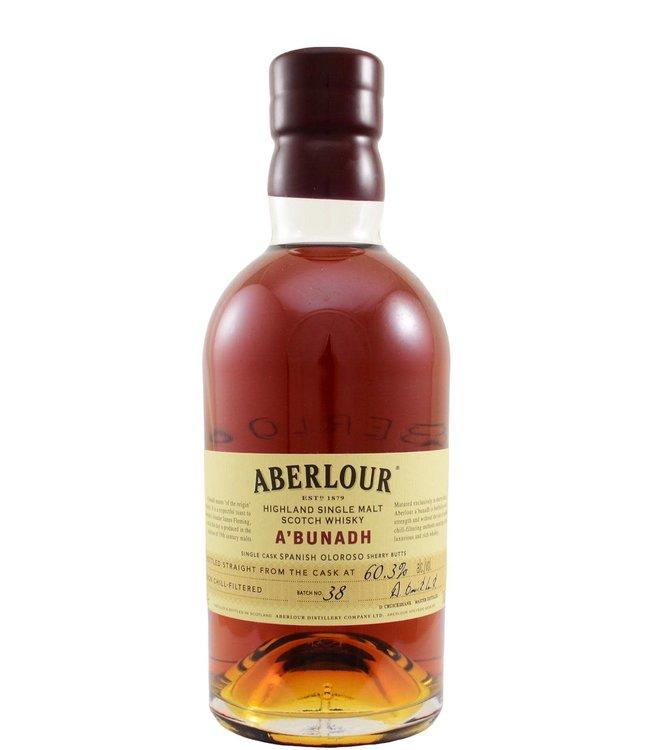 Aberlour Aberlour A'bunadh batch #38