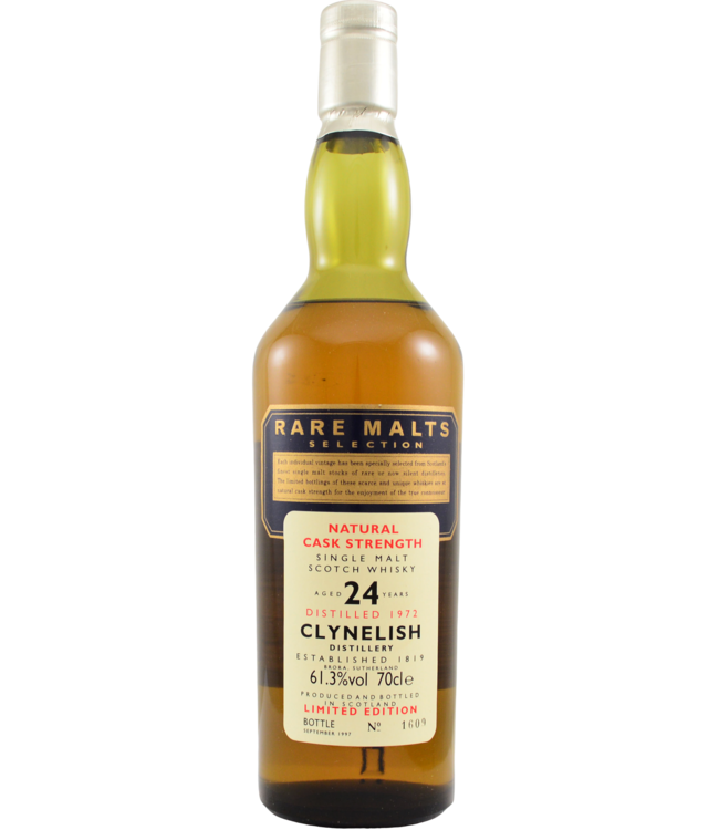 Clynelish Clynelish 1972 Rare Malts - bottle 1609