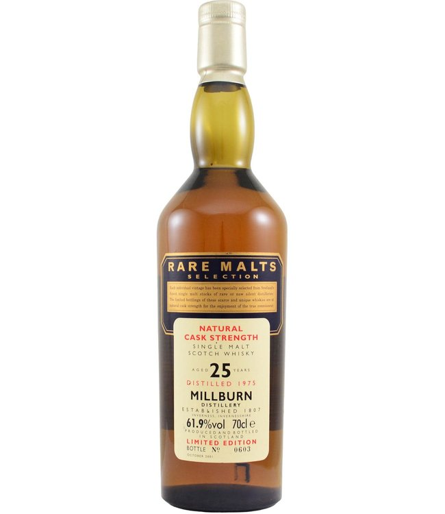 Millburn Millburn 1975 Rare Malts - bottle 0603