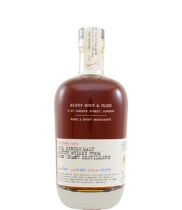Glen Grant 1972 exceptional cask Berry Bros & Rudd