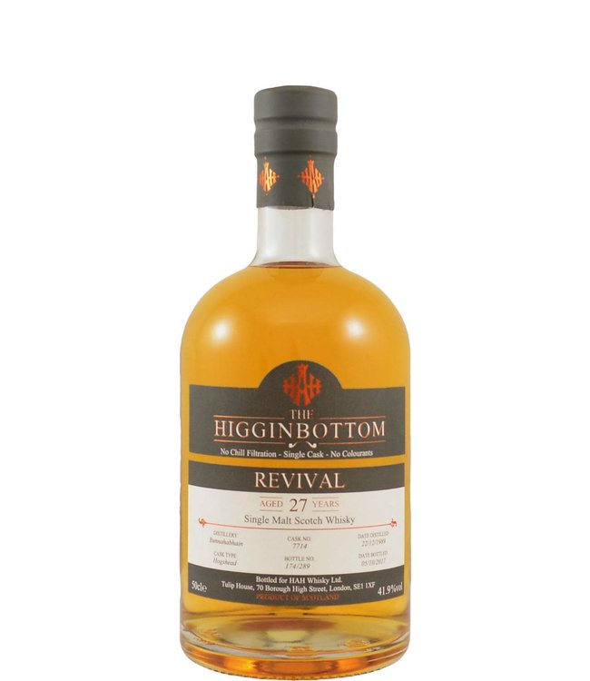 Bunnahabhain Bunnahabhain 1989 HAH Whisky Ltd.