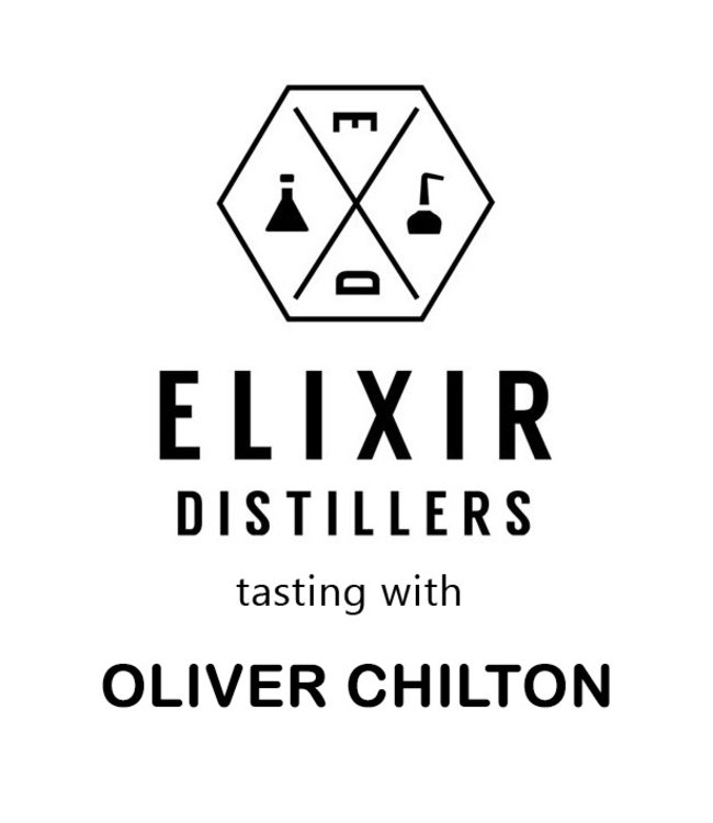 Elixir Distillers tasting Wednesday April 15th