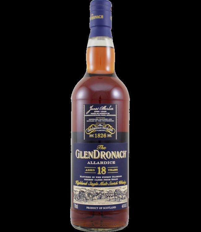 Glendronach Glendronach 18-year-old Allardice bottled 2019