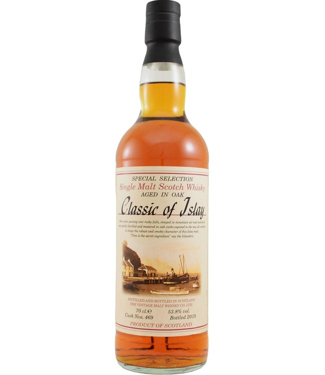 Classic of Islay Vintage 2019 Jack Wiebers Whisky World - cask 469