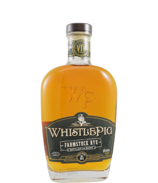 Whistlepig WhistlePig Farmstock - Rye Crop - No. 003