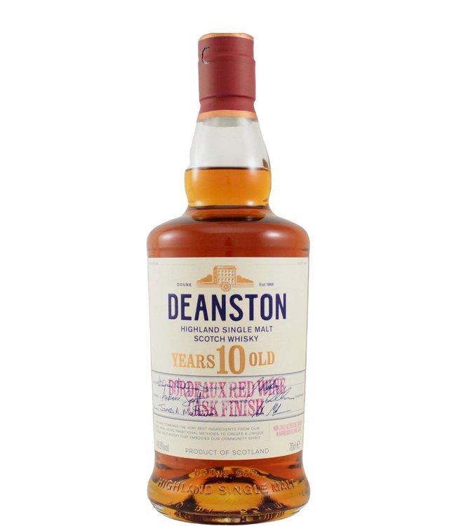 Deanston Deanston 10-year-old - Bordeaux Finish