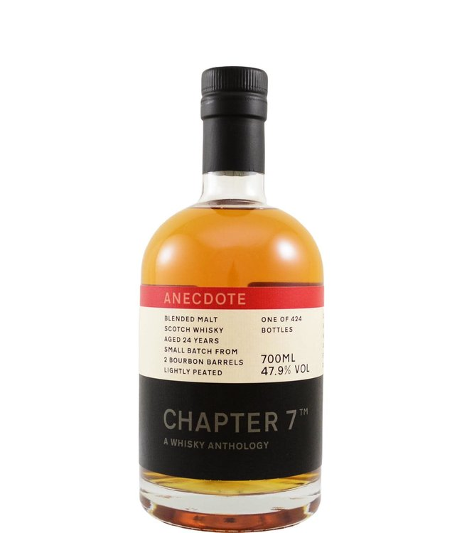 Blended Malt Scotch Whisky 24-year-old Chapter 7