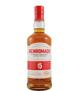 Benromach 15-year-old - 2020 label