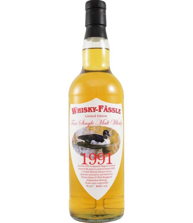 Speyside Region 1991 Whisky-Fässle