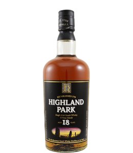 Highland Park 18-year-old - Old Label