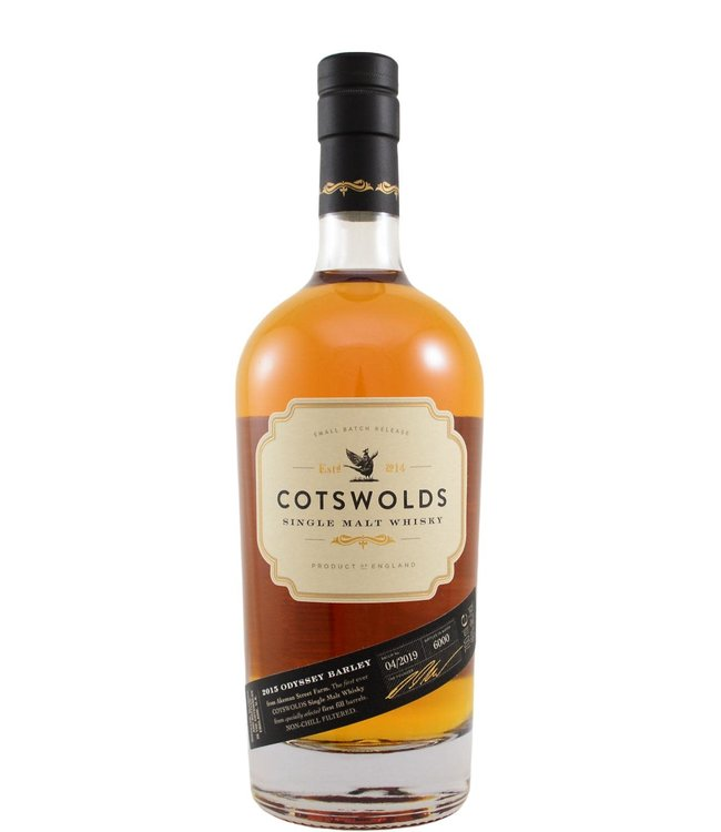 Cotswolds Cotswolds Distillery 2015 - Odyssey Barley