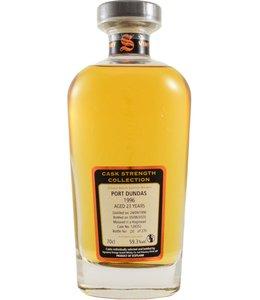 Port Dundas 1996 Signatory Vintage - Cask 128352 59.3%