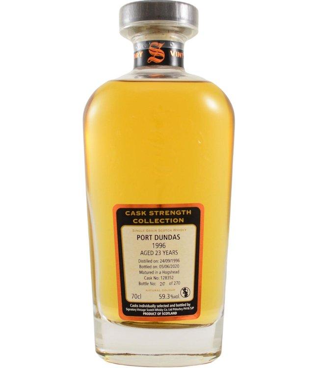 Port Dundas Port Dundas 1996 Signatory Vintage - Cask 128352 59.3%