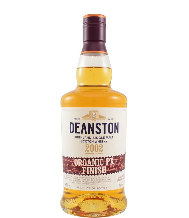 Deanston Deanston 2002 - Organic PX